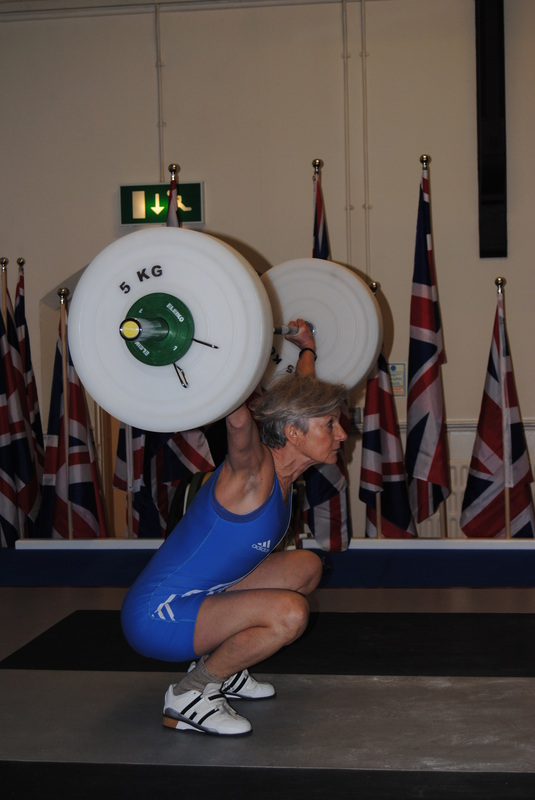 A photo of Gwendolyn at the British Masters in 2012